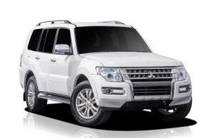Mitsubishi 4WD for hire