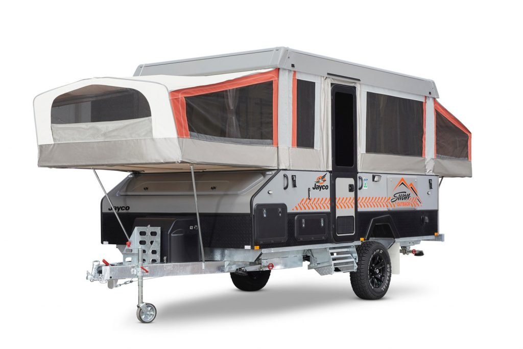 New Jayco Swan Camper for hire